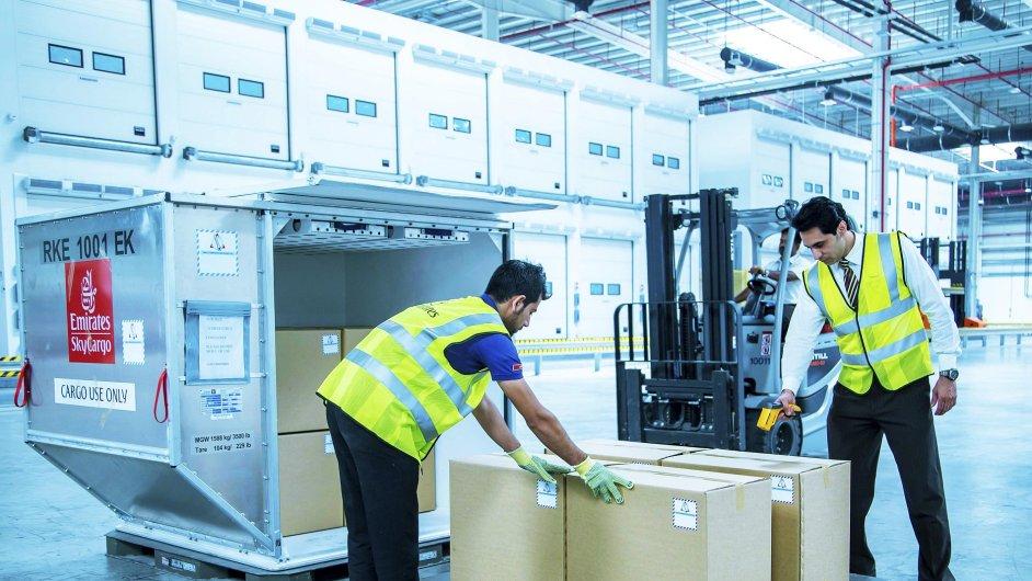 Emirates SkyCargo představila nový kontejner s regulací teploty