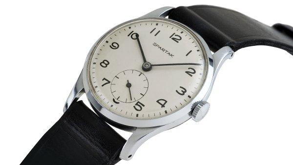 Spartak - p�ed 60 lety vznikly prvn� �eskoslovensk� hodinky