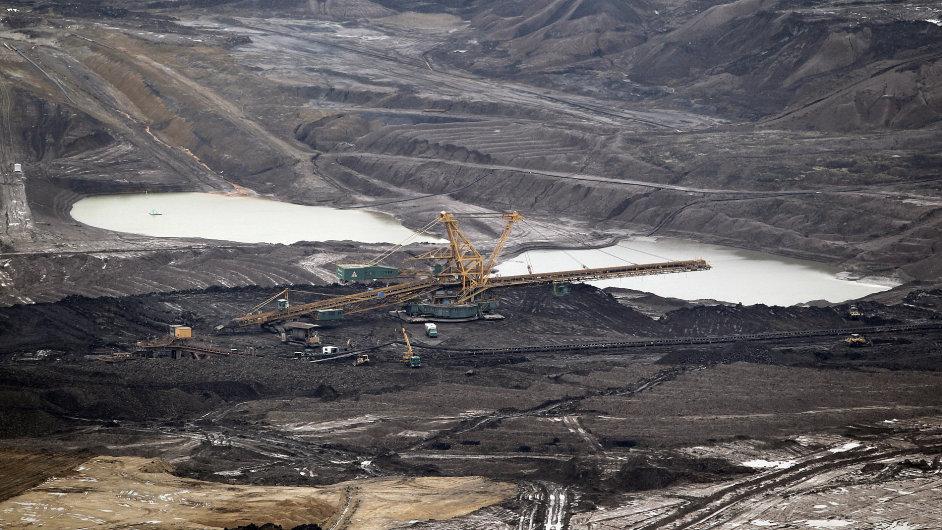 Povrchový důl Československé armády (ČSA)