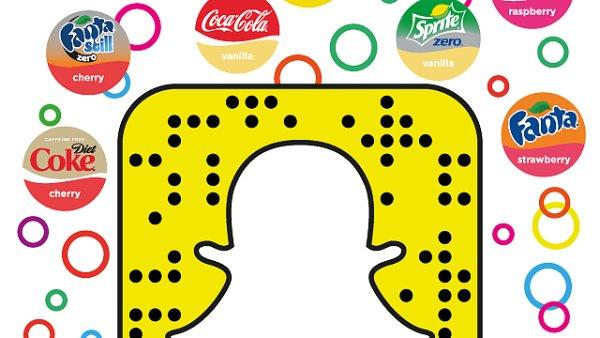Česká Coca-Cola nasadila Snapchat do kampaně