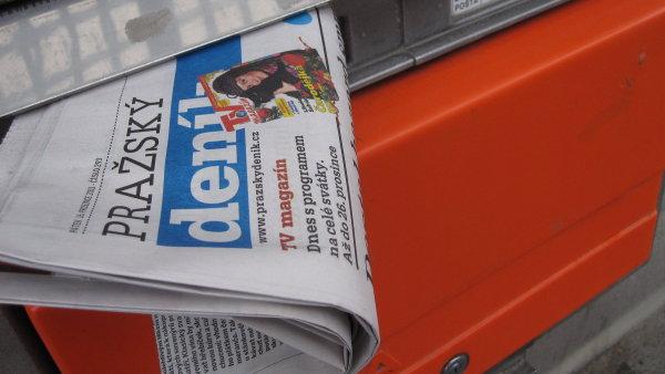 Investiční skupina Penta je blízko převzetí vydavatele Deníku.