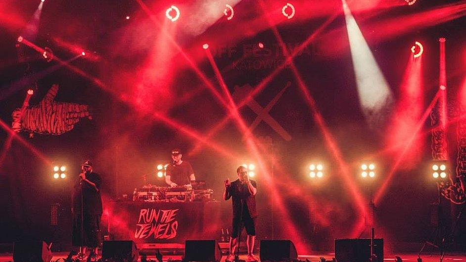 Run The Jewels vystoupili ve třetím a posledním dnu festivalu OFF.