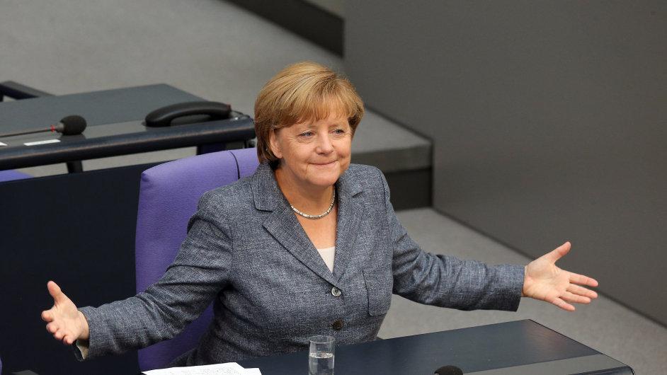 Angela Merkelová, eurozóna, EU