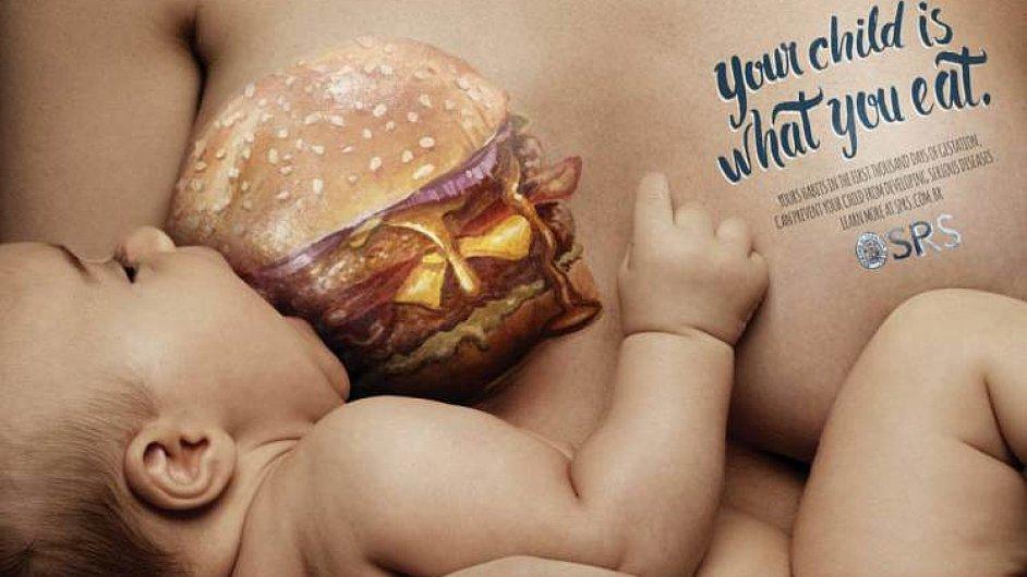Vaše dítě je to, co jíte