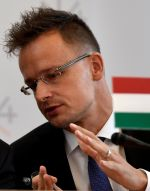 Maďarský ministr zahraničí Péter Szijjártó. Foto: Reuters