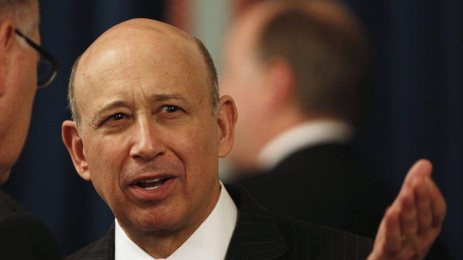 Šéf Goldman Sachs Lloyd Blankfein