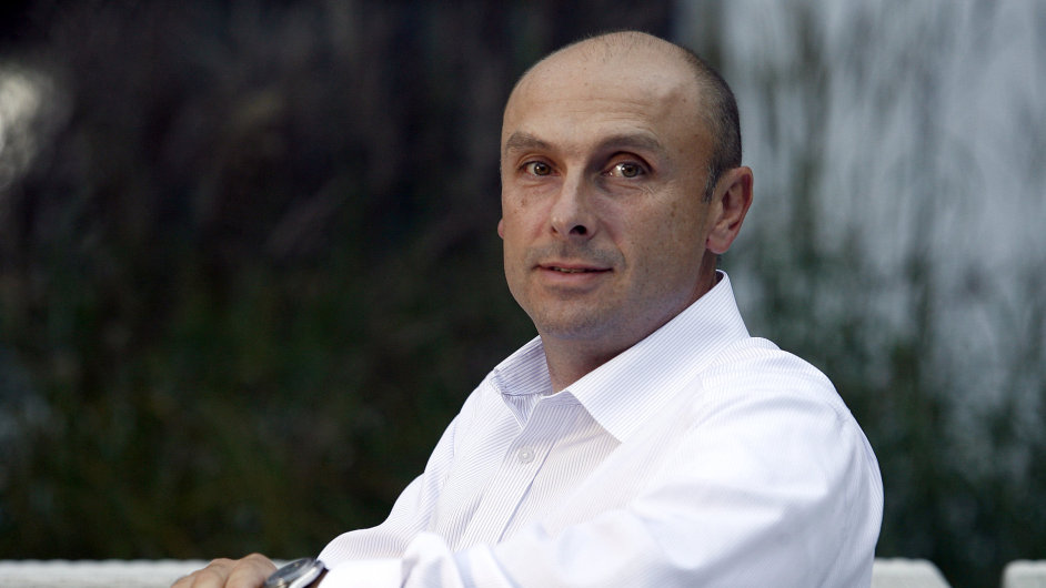 Ochodní ředitel TV Nova Jan Vlček.