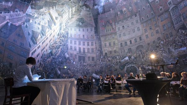 Snímek z loňského ročníku Lipského knižního veletrhu.