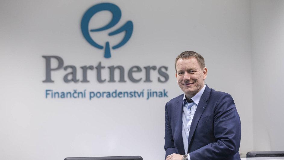 Petr Borkovec, zakladatel poradenské firmy Partners Financial Services