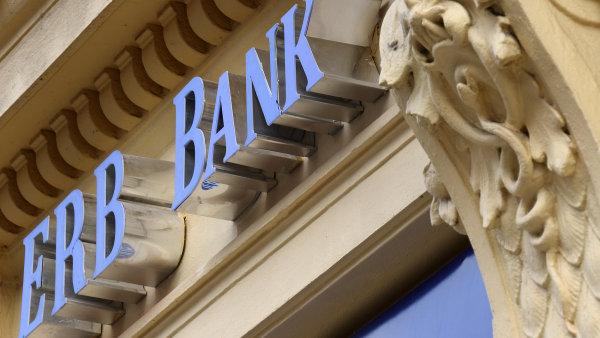 Centr�la Evropsko-rusk� banky (ERB bank) v pra�sk� �tef�nikov� ulici.