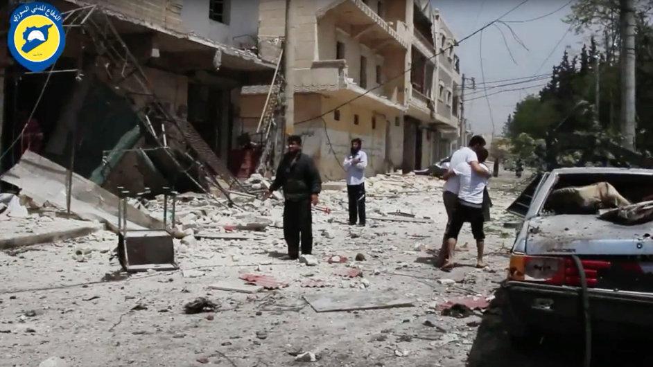 Při náletu syrského letectva byla zasažena nemocnice ve městě Halab na severu země.