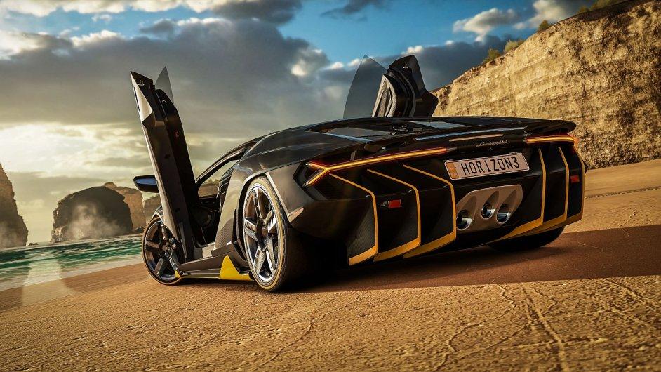Hvězdou hry Forza Horizon 3 bude chystaný model Lamborghini Centenario
