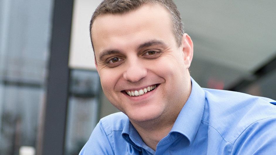 Hany Farghali, manažer externí komunikace a interních médií ve společnosti O2
