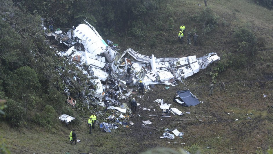 V Kolumbii se zřítilo letadlo s 81 lidmi, přežilo jich pět