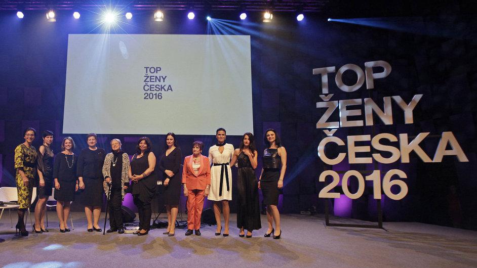 Top ženy Česka 2016