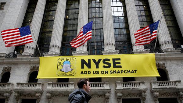 Wall Street láká na akcie Snapchatu.