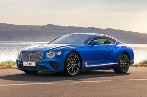 Otočný displej, dvanáctiválcový motor a nižší hmotnost. Na to láká nové Bentley Continental GT