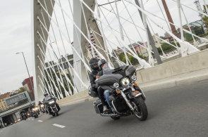 Motorkářská slavnost Prague Harley Days přilákala 17 tisíc lidí. Nabídla kaskadérskou show i spanilou jízdu městem