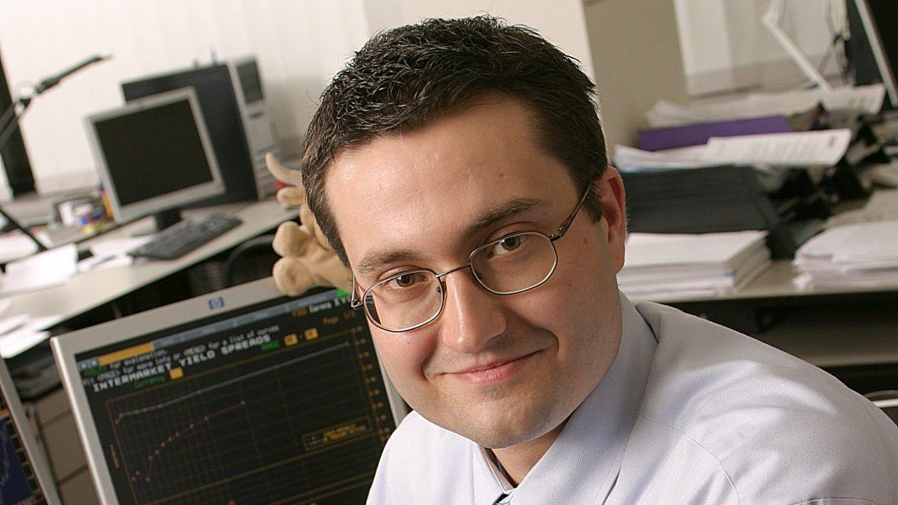 Hlavní ekonom České spořitelny David Navrátil.