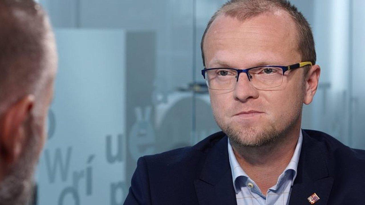 Místopředseda ČSSD Martin Netolický.