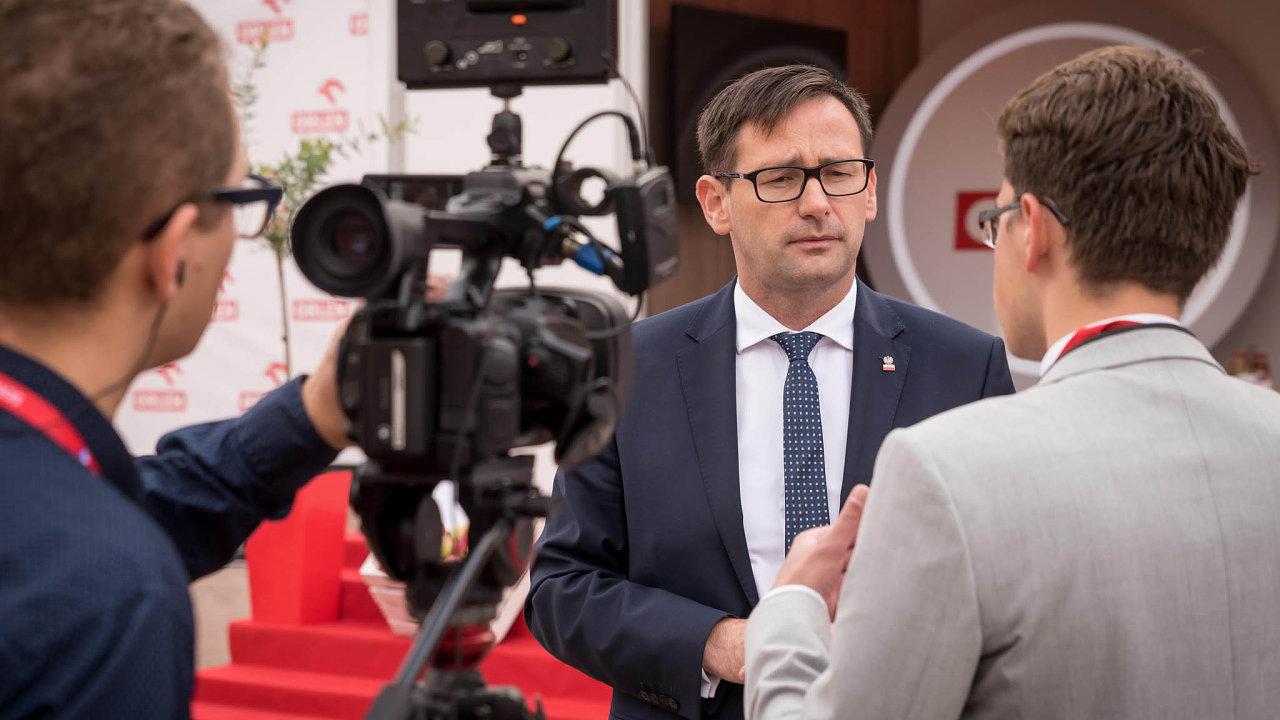 Daniel Obajtek, šéf polského koncernu PKN Orlen