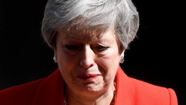 Mayová oznámila svou rezignaci. V čele britských konzervativců skončí 7. června, premiérkou zůstane do zvolení nového vůdce strany
