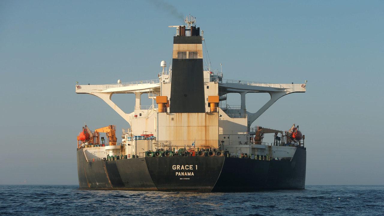 Írán považuje zadržení své lodě za nelegální a ohradil se proti němu.