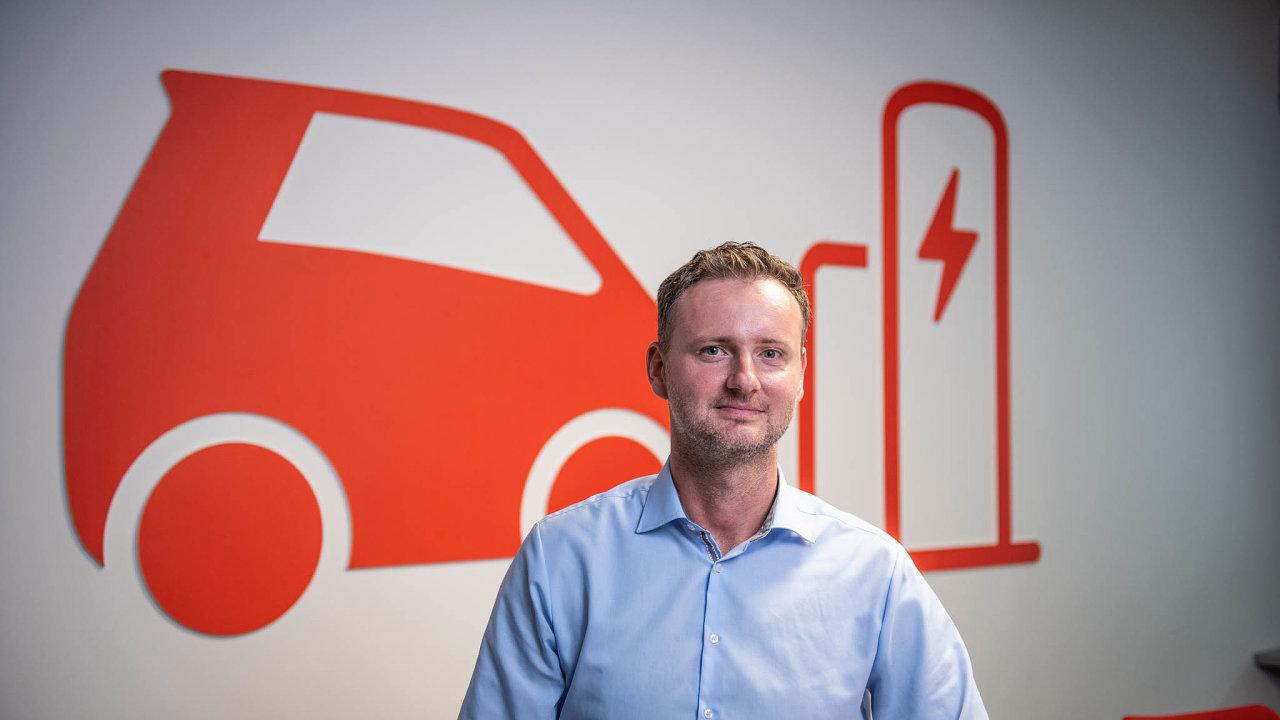 Martin Klíma vede oddělení E.ON Mobility Services, zaměřené inaelektromobiltu.