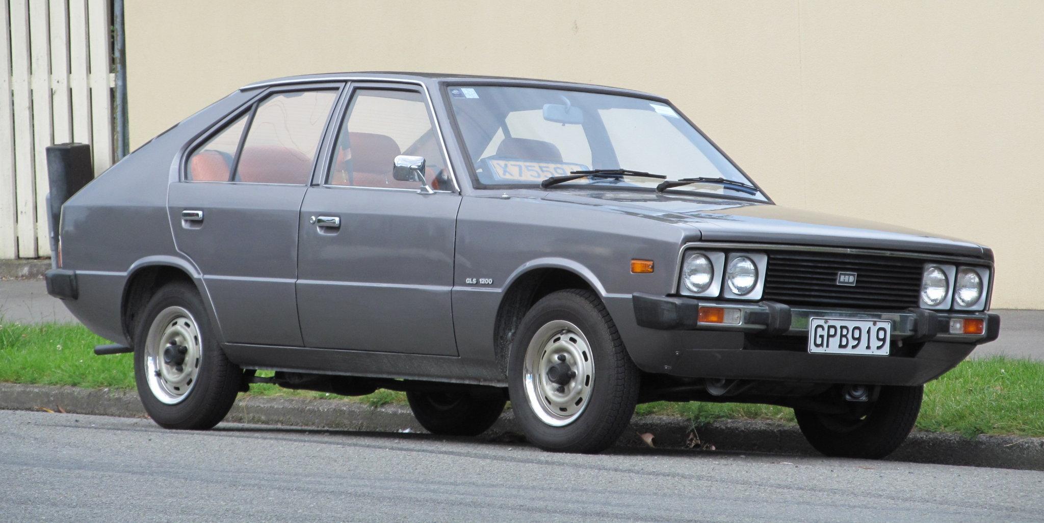 1982 Hyundai Pony GLS 11868204214