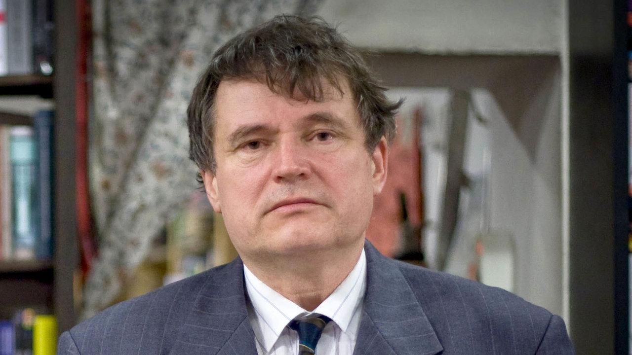 Profesor historie naFFUK Jan Rychlík