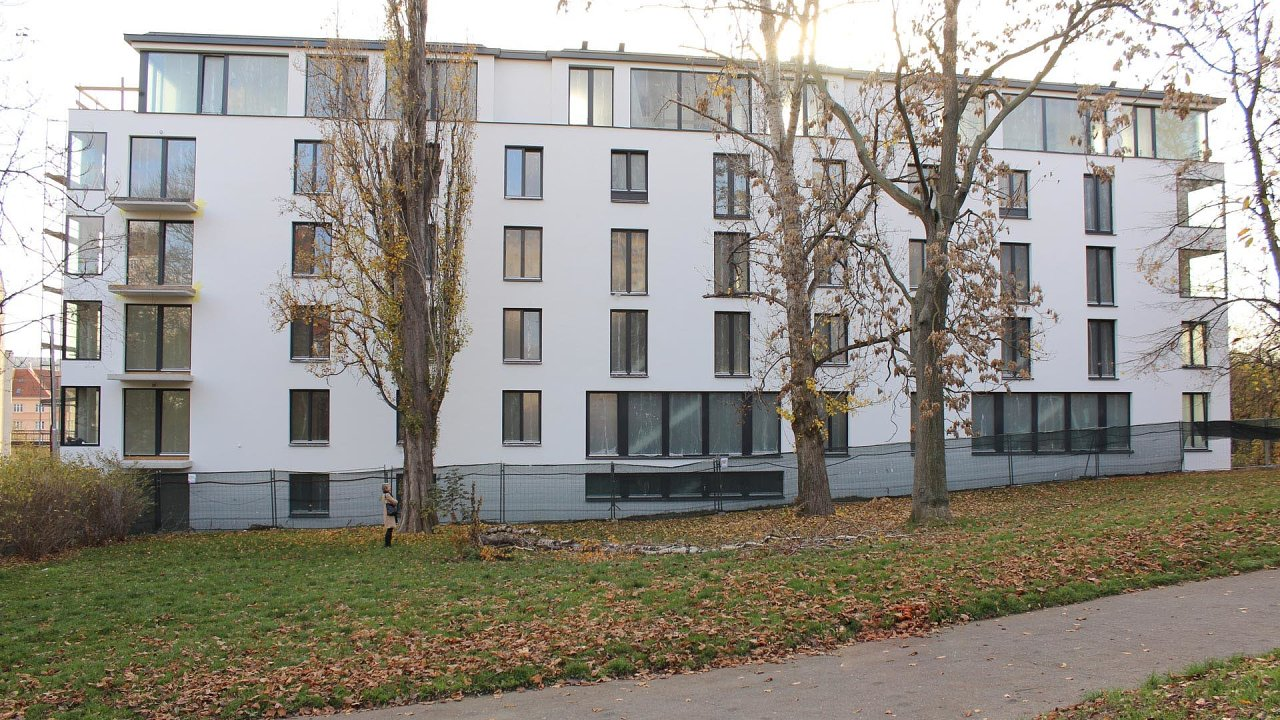 Rezidenční projekt Primátorská v pražské Libni