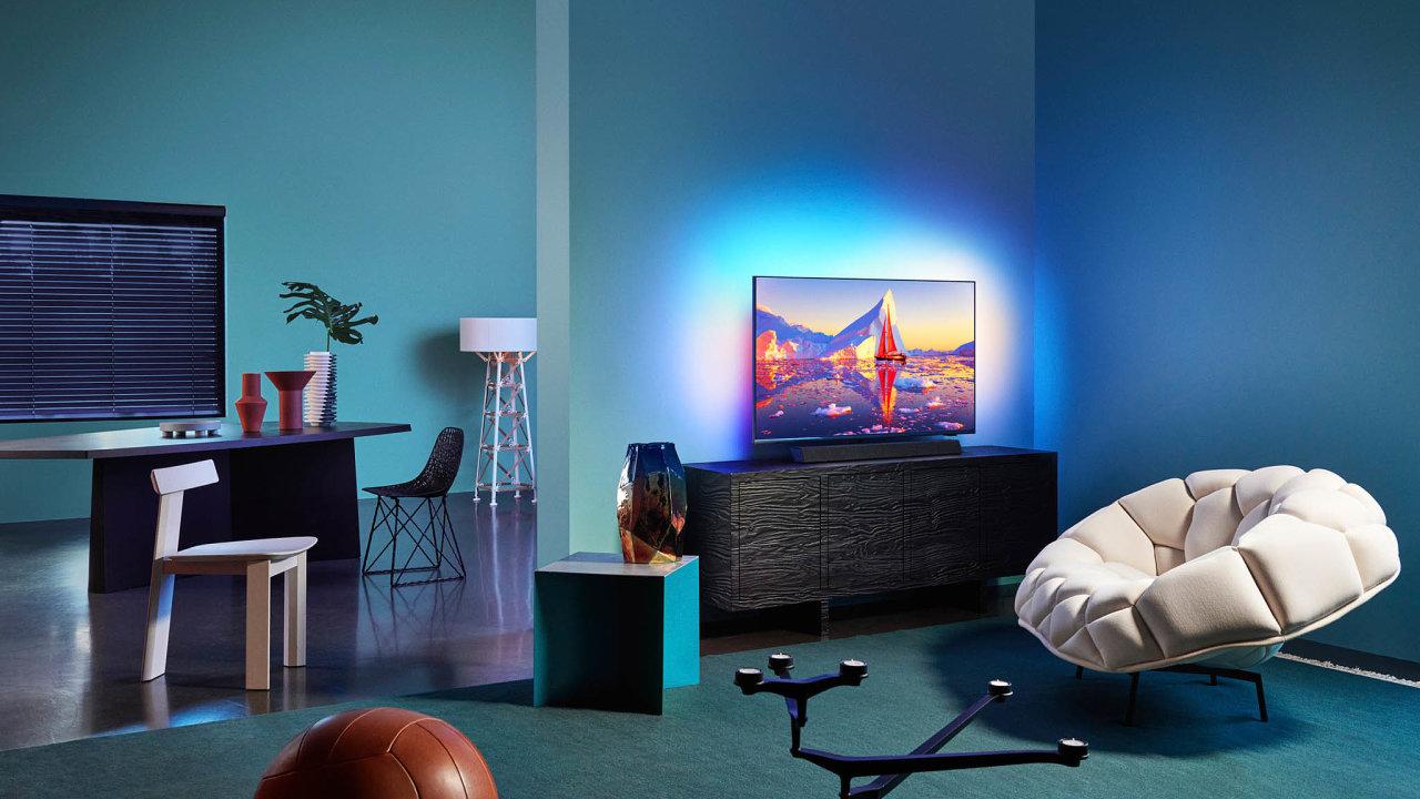 """Soundbar slogem Bowers & Wilkins nabídne Philips také u modelů osazených standardními LCD obrazovkami súhlopříčkou 65"""", 55"""" i43""""."""
