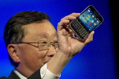 Výroba telefonů se značkou BlackBerry končí.