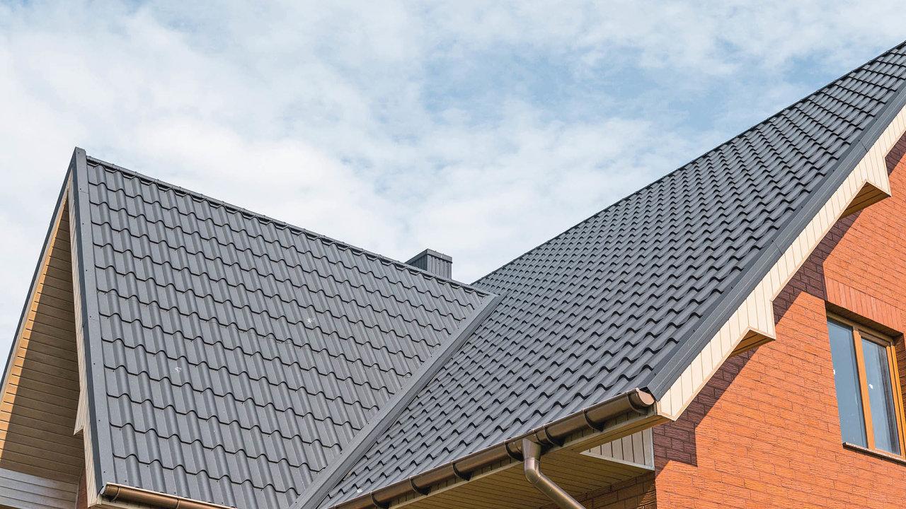 Tvar střechy značně ovlivňuje energetickou náročnost celého domu.