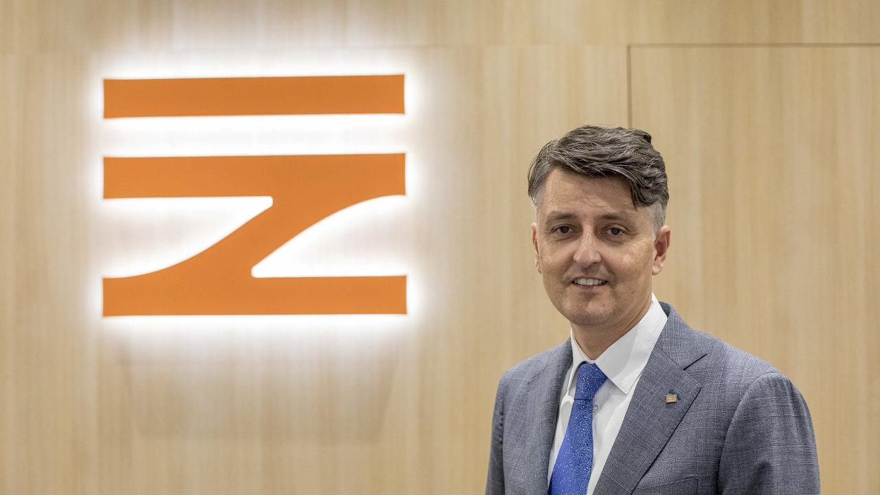 Generální ředitel Správy železnic Jiří Svoboda.