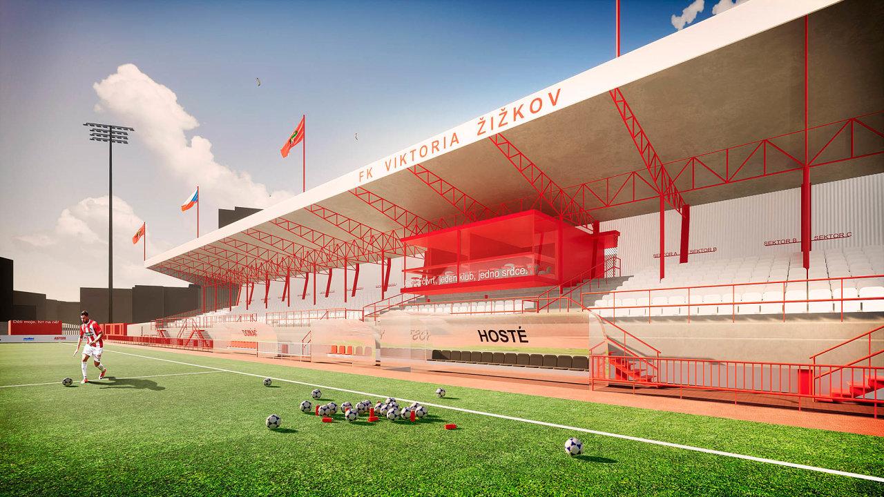 Pro renovaci stadionu vSeifertově ulici už má klub zpracovaný projekt, zatím ale hledá společnou řeč směstem, kterému stadion patří.