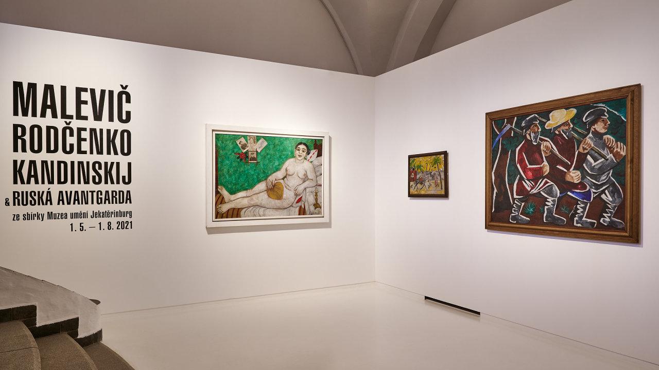 ruská avantgarda, Alšova jihočeská galerie
