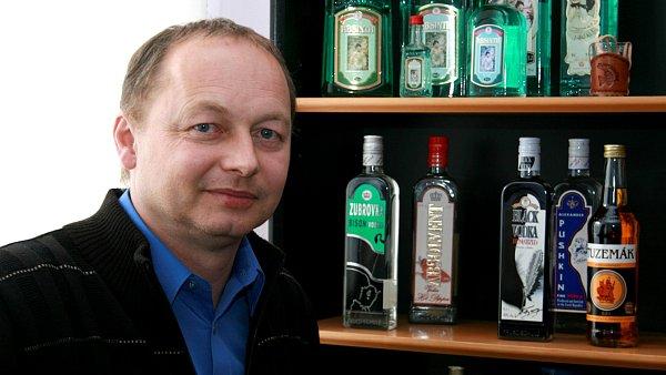 Josef Nejedlý, ředitel a spolumajitel likérky Fruko Schulz