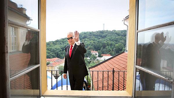 Milo� Zeman.
