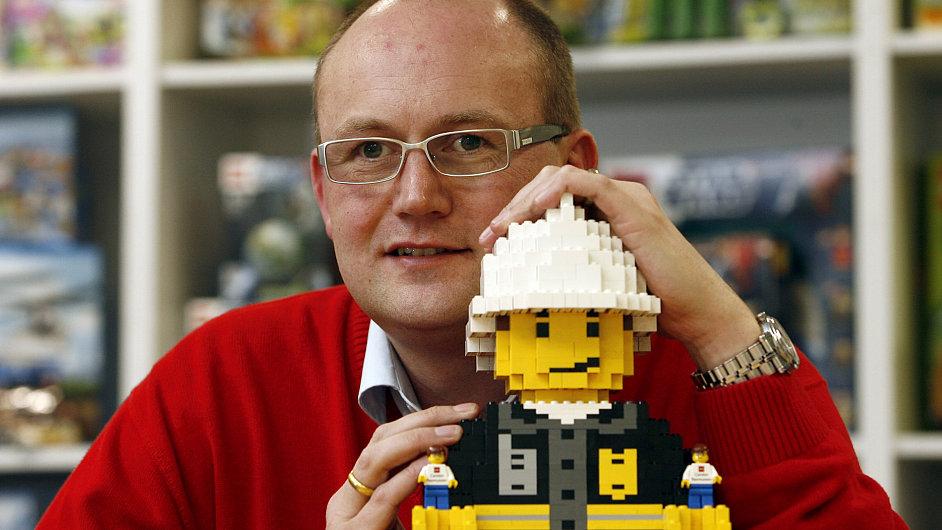 Carsten Rasmussen, generální ředitel kladenské továrny LEGO