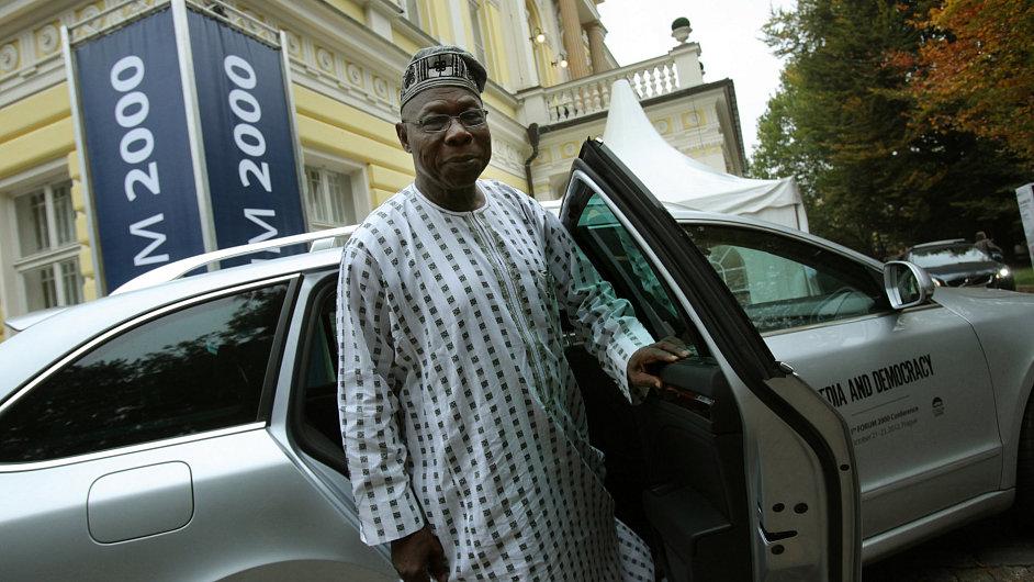 Bývalý nigerijský prezident Olusegun Obasanja