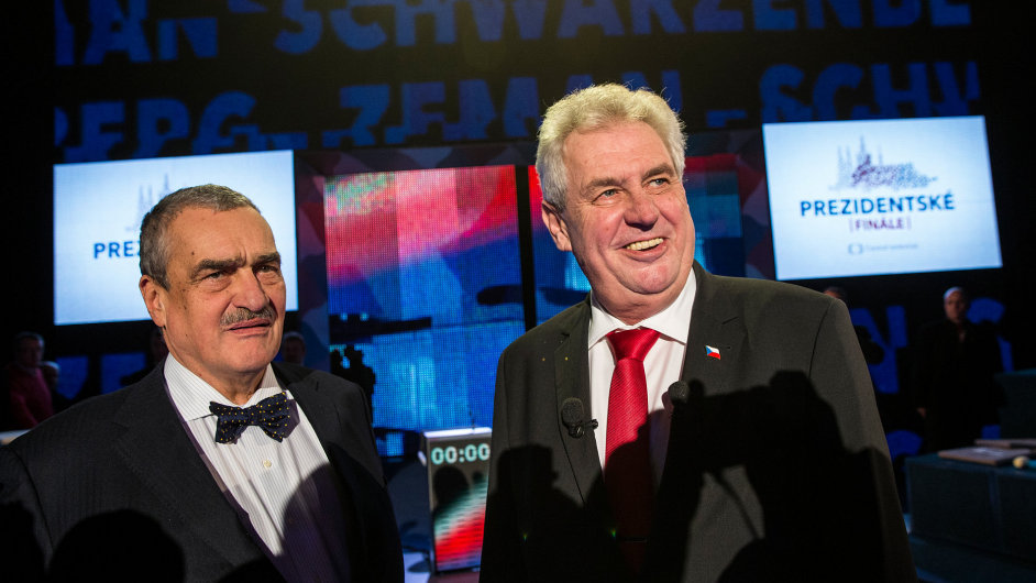 Kandidáti se sešli při poslední televizní debatě.