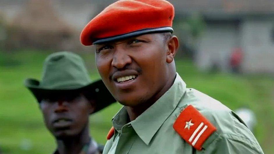 Bývalý generál konžské armády Bosco Ntaganda.