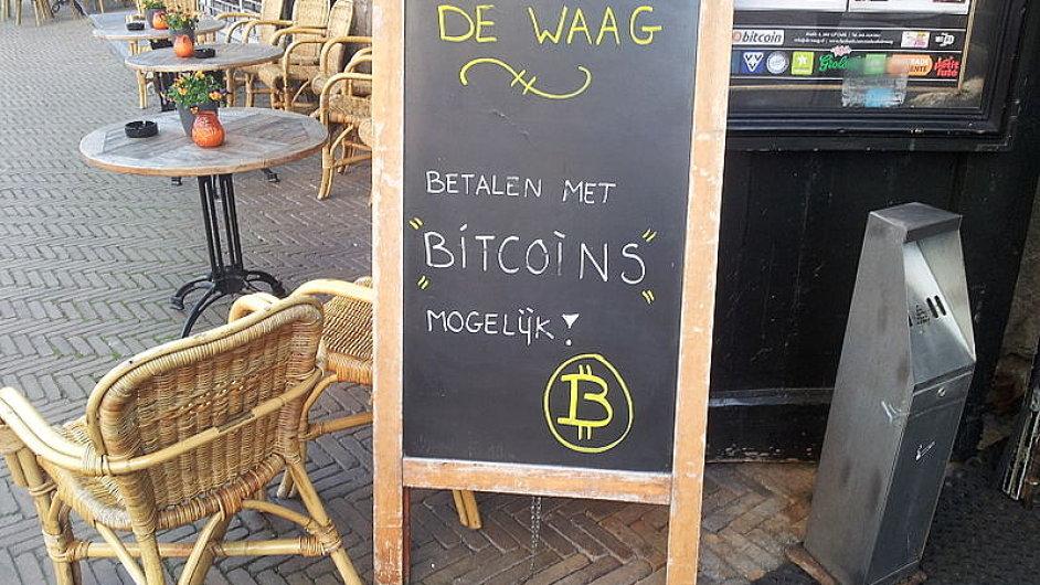 Bitcoin už přijímají také některé kavárny v Nizozemsku.