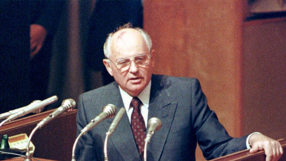 Michail Gorbačov v roce 1991