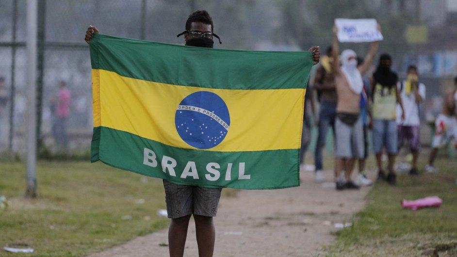 Brazílie. Zemi ochromí generální stávka.