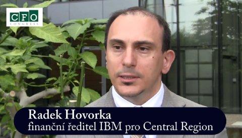 Radek Hovorka, finanční ředitel IBM