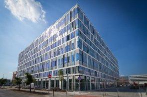 Kancelářský komplex Váci Greens v Budapešti