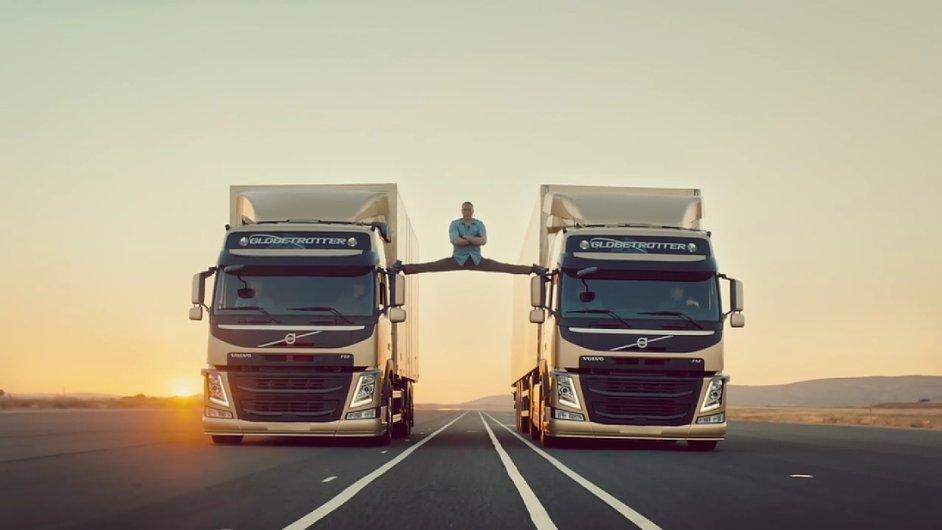 Jean-Claude Van Damme a Volvo