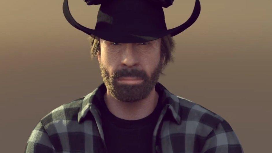 Chuck Norris překonává Van Damma